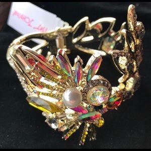 NWT BETSEY JOHNSON cuff bracelet